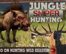 تحميل لعبة صيد الحيوانات Jungle Sniper Hunting 3D