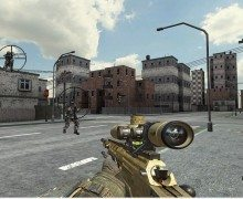 لعبة قناص القوات الخاصة SWAT Sniper War
