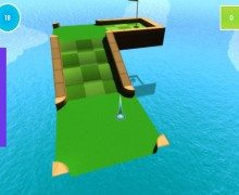 لعبة الجولف المصغر Mini Golf 3D