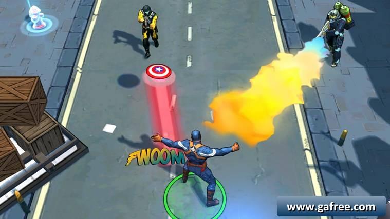 تحميل لعبة كابتن امريكا كمبيوتر Captain America