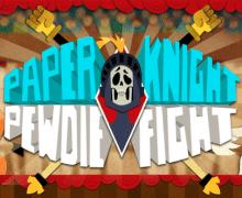 تحميل لعبة الفارس الشجاع Paper Knight PewDieFight