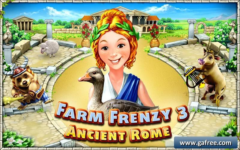farm frenzy ancient rome تحميل لعبة كاملة
