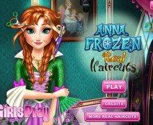 تحميل لعبة حلاقة الشعر Anna Frozen Real Haircuts