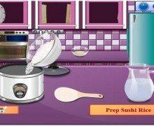 تحميل لعبة طبخ السوشي Cooking Sushi