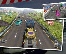 تحميل لعبة سباق سيارات التيربو Turbo Car Traffic Racing