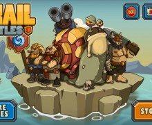 تحميل لعبة سنيل باتل Snail Battles