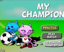 تحميل لعبة ابطال كرة القدم My Champion