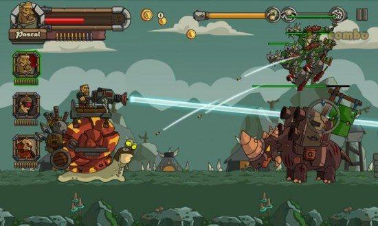 تحميل لعبة سنيل باتل  Snail Battles لعبة الحرب الشهيرة