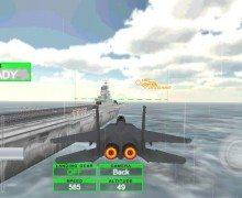 تحميل لعبة طائرات F18 F15 Fighter Jet Simulator
