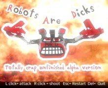 تحميل لعبة الروبوتات Robots Are Dicks