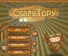تحميل لعبة السيارة المجنونة CrazyTopy