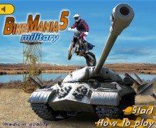 تحميل لعبة الدراجات الخطيرة Bike Mania 5: Military