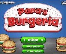 تحميل لعبة مطعم البرجر باباس Papas Burgeria