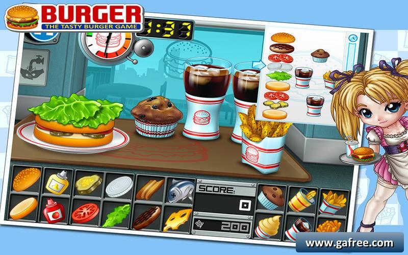 تحميل لعبة برجر Burger