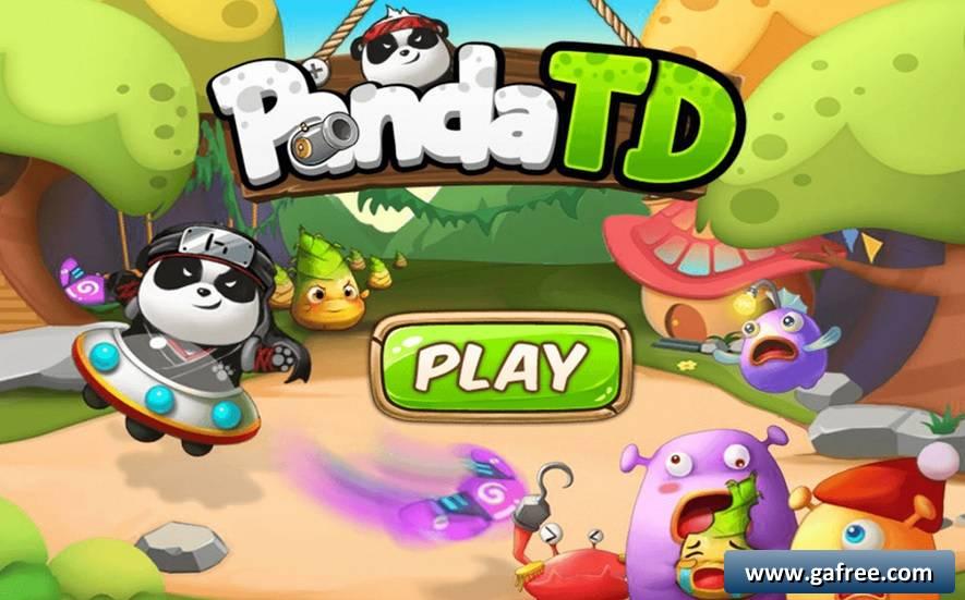 تحميل لعبة الباندا Panda TD