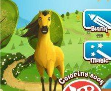 تحميل لعبة كتاب التلوين Horse Coloring Book