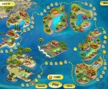 تحميل لعبة الجزيرة السعيدة Paradise Beach 2