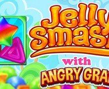 تحميل لعبة الحلويات الجديدة Jelly Smash