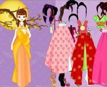 تحميل لعبة تلبيس باربي Asian Barbie