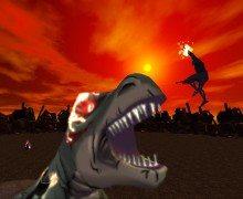 لعبة حرب الوحوش والبشر Cybersaurs Annihilation