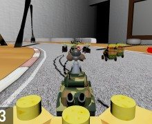 تحميل لعبة حرب سباق السيارات Rude Racers