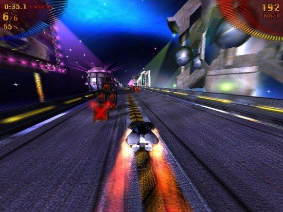 تحميل لعبة سباق السيارات السريعة Space Extreme Racers