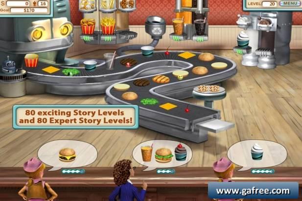 تحميل لعبة برجر شوب Burger Shop