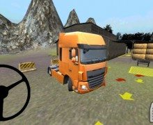 تحميل لعبة قيادة شاحنة المزرعة Farm Truck 3D Hay
