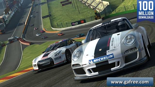 تحميل لعبة السيارات للايفون Real Racing 3