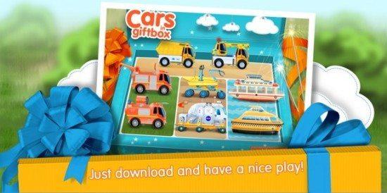 تحميل لعبة سيارات نقل الهدايا Cars in Gift Box