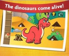 تحميل لعبة الديناصورات للاطفال Kids Dinosaur