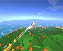 تحميل لعبة التحليق والطيران Radical Rockits