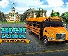 تحميل لعبة باص المدرسة High School Bus Parking
