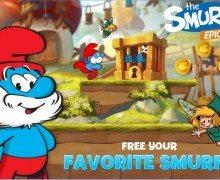 تحميل لعبة عالم السنافر Smurfs Epic Run