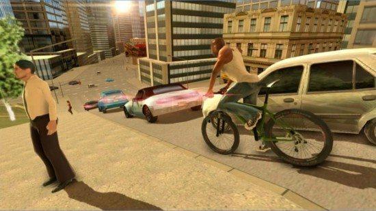 تحميل لعبة سان اندرس San Andreas Crime City II