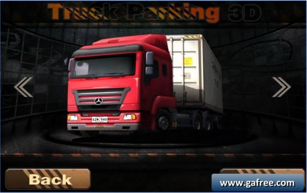 تحميل لعبة truck parking 3d للكمبيوتر