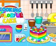 تحميل لعبة طبخ الكيك Cooking colorful cake