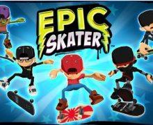 تحميل لعبة تزلج الشوارع الجديدة Epic Skater