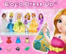 تحميل لعبة تلبيس البنات للايفون Coco Dress Up 3D