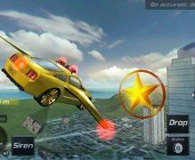 تحميل لعبة السيارات الطائرة flying police car