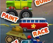 تحميل لعبة سيارات مجنونة Car Builder 2 Mad Race