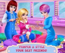 تحميل لعبة مغامرات البنات Girls PJ Party