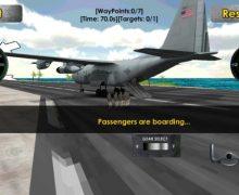 تحميل لعبة طائرة الشحن العسكرية Flight Sim Transport Plane 3D