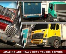 تحميل لعبة محاكاة قيادة الشاحنات Road truck simulator 3D games