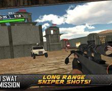تحميل لعبة القوات الخاصة سوات SWAT Team Strike 3D