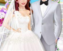 تحميل لعبة تزيين العروسة Celebrity Beach Wedding Party