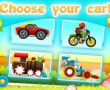 تحميل لعبة سباق الارنب مجانا Easter Bunny Racing For Kids