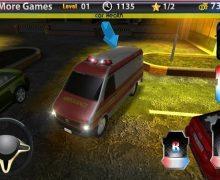 تحميل لعبة ركن سيارات الإطفاء Truck Parking 3D Fire Truck