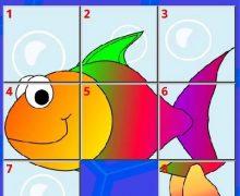 تحميل العاب للاطفال مجانا للايباد Kids Slide Puzzle