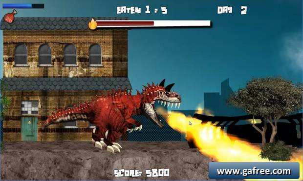تحميل لعبة الديناصور ريكس Paris Rex